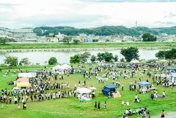 人気クラフトイベント「もみじ市」10月14日・15日多摩川で開催