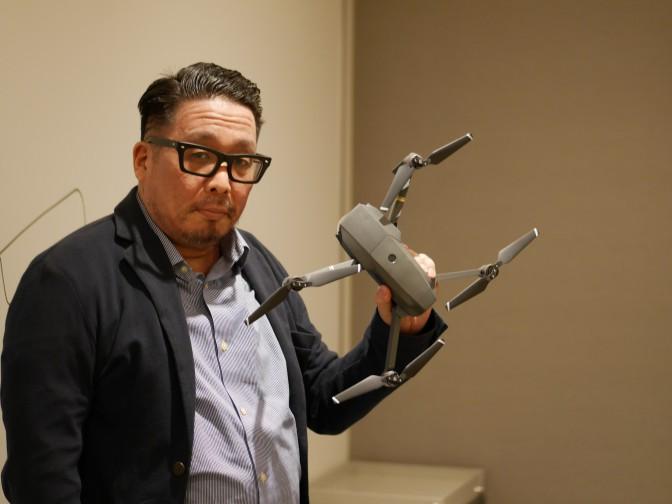 【ドローンキーパーソンインタビューVol.4前編】『DRONE』は現場主義
