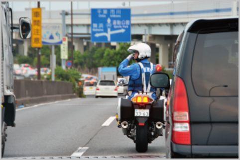 交通違反で捕まらないために、月末には特に〇〇に注意しよう